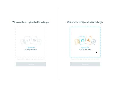 File Uploader startup paylance file icon product ux ui