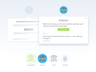 Modal Design + Icons advertising dashboard dropdown popup modal tip help support line icon icon ui ux
