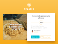 Feastly Meal Card
