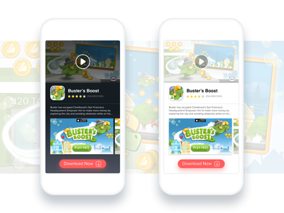 Video Ads • Theme Variations ad video product ui ux visual mobile ios