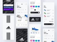 Adidas mobile app concept
