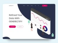 GENERECTIFY | Landing Page
