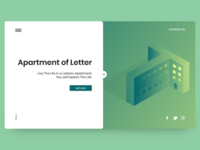 Apartment of letter