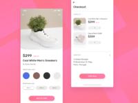 Ecommerce Fashion app exploration