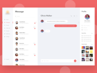 Messaging Dashboard exploration