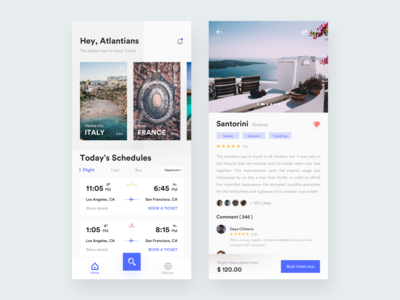 Ticket Booking App exploration