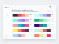 Instagram shot colorhunt dashboard