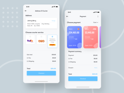 Delivery Service & Payment method app