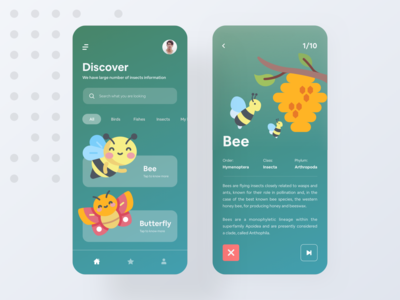 Wildlife app for children