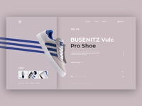 UI Design, Grey color selection of the shoe