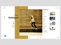 Team Page concept presentation