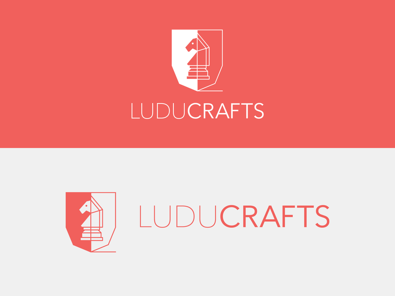 Luducrafts logo logo