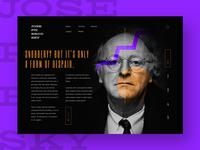 Landing Page J. Brodsky