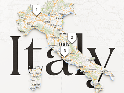Country Topic Page country topic page map font type italy travel trips suggestions pin