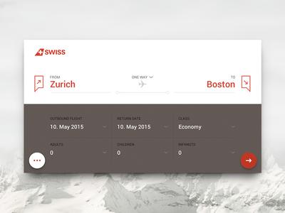 Flight Booking Mobile App concept photoshop ux tickets airline mobile app flights