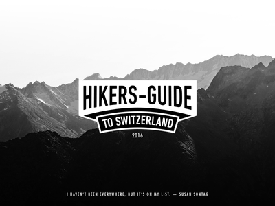Hikers Guide to Switzerland
