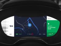 Audi Dashboard Navigation