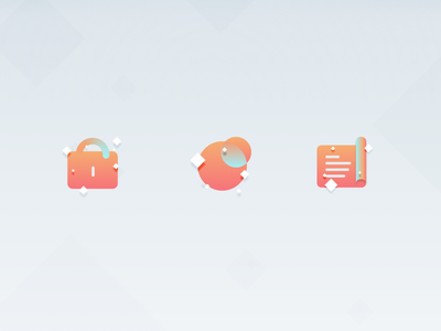 Iconset colours icons icons set icon app design