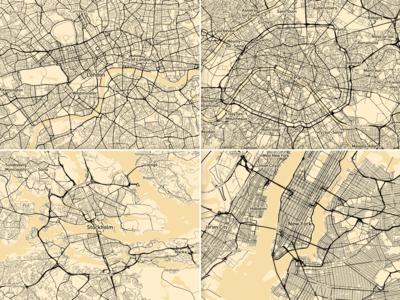 Mapbox Optimising cities