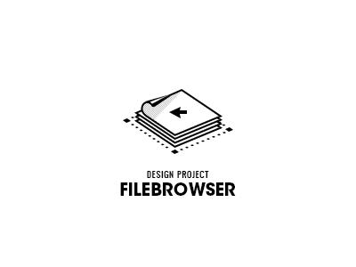 File Browser photoshop design logo icon system folder file browser