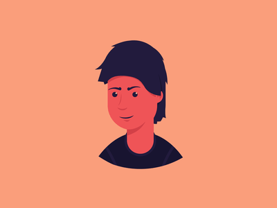 User caracter person web draw creativity icon vector illustrator illustration dribbble design