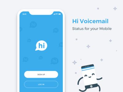Hi Voicemail App - Welcome