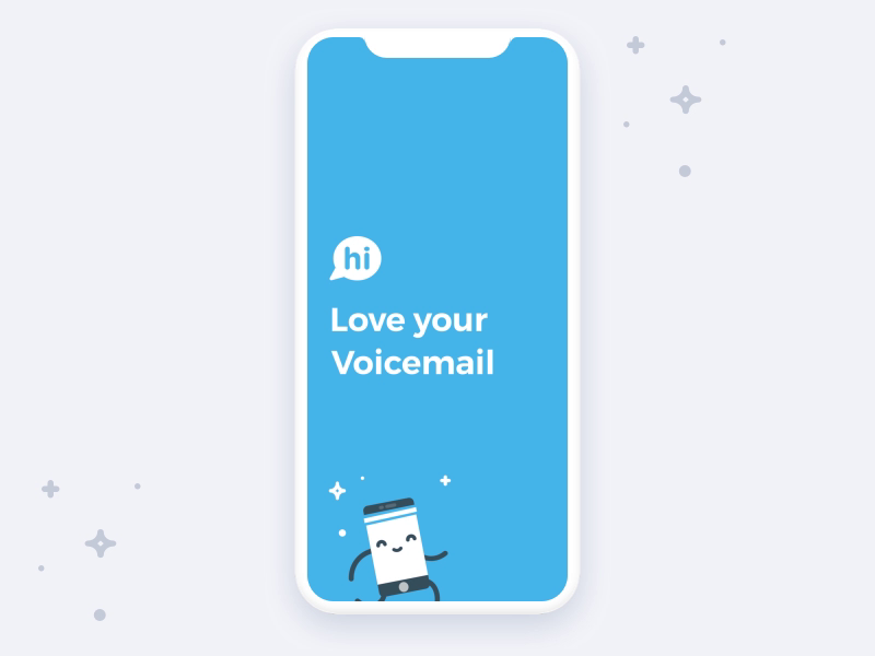 Hi Voicemail App Preview video for Apple Store by Catarina