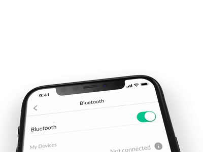 Connect Bluetooth connect bluetooth ios yoobic animation iphone app