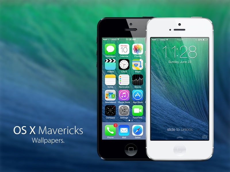 Os X Mavericks Wallpapers By Arcangelo Fiore On Dribbble
