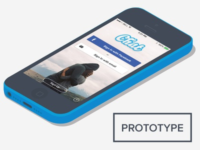 Chat App template chat template psd ios7 ios 7 menu mockup messaging creative market full app app prototype