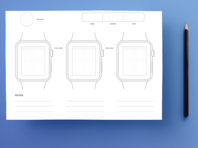 Apple Watch Sketchpad sketchpad sketch pdf psd 42mm mockup apple watch watch apple