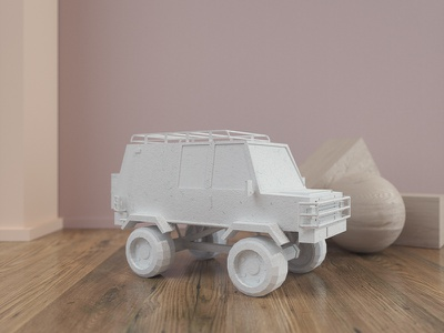 Van 3d artist 3d designer 3d design epicurrence car wood texture render octane model hdri c4d 3d cinema 4d