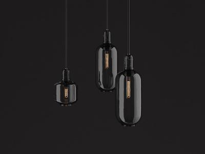 Amp Lamp 3d artist 3d designer 3d design realism interior design lighting render octane model hdri glass cinema 4d marble c4d 3d