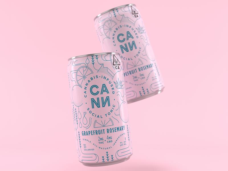 Drink Cann No. 2 design brand design branding brand material realism 3d design model octane cinema 4d render c4d 3d designer 3d artist 3d