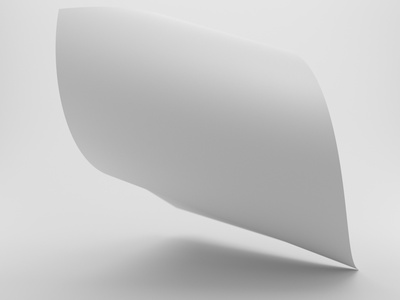 Poster No. 7 Clay rendering poster poster design material realism 3d design model octane cinema 4d render c4d 3d designer 3d artist 3d