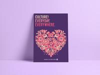 Culture design poster