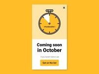 Coming Soon Countdown Codepen