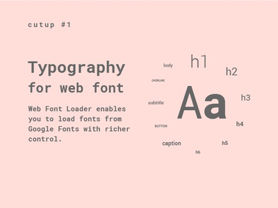 Cutup #1 Typographic