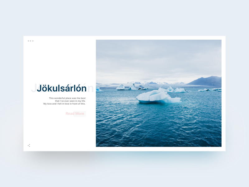 Jökulsárlón - Article