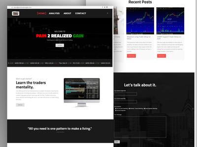 Website Design for P2RG
