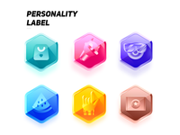 personality label icon