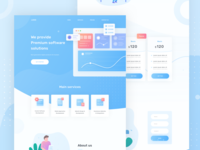 Development services landing page