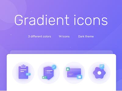 Freebie gradient icon set free gradients icon pack free icons gradient icons free icon set freebbble free icon free freebie illustration icon crypto design ui