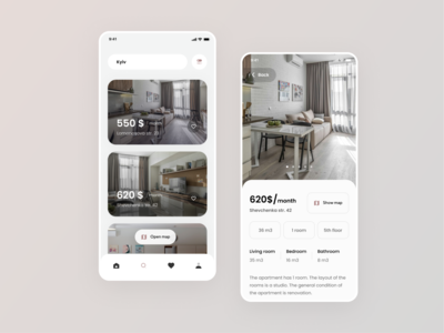 Apartments rent app