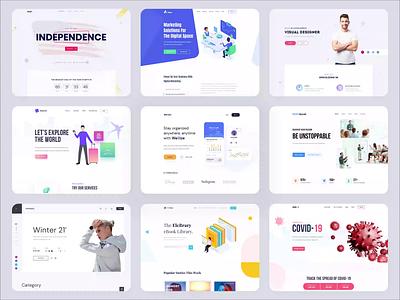 Best Design of 2020 design ui ux branding agency website illustration landingpage product best animation best design 2020 animation design gif animation