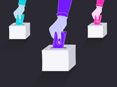 Illustration | Vote for Bitcoin
