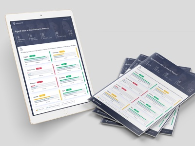 Agent Interaction Patterns hello. branding design ux app ui