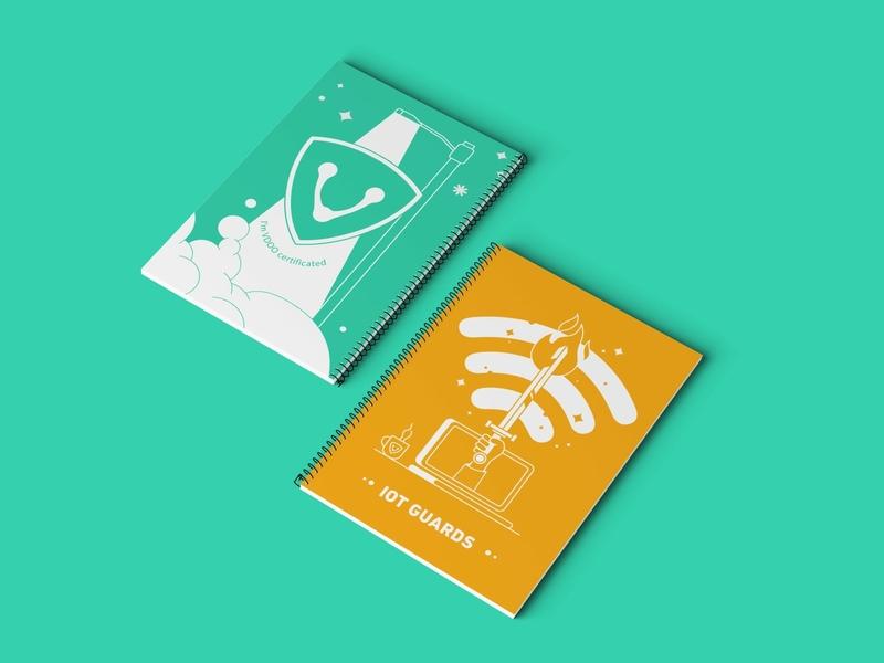 VDOO branding illustration typography hello. branding design