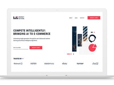 Market Beyond branding web vector brand typography design hello. branding ui ux