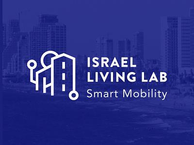 Israel Living Lab branding vector logo brand typography design branding